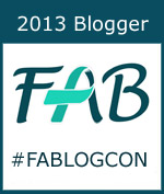 2013 Blogger at Food Allergy Blogger Conference #FABLOGCON
