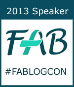 2013 Speaker at Food Allergy Blogger Conference #FABLOGCON