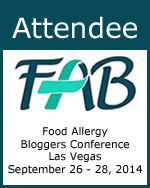 Attendee - 2014 Food Allergy Bloggers Conference #FABLOGCON
