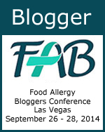 Blogger - 2014 Food Allergy Bloggers Conference #FABLOGCON