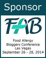 Sponsor - 2014 Food Allergy Bloggers Conference #FABLOGCON