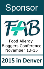 Sponsor for the 2015 Food Allergy Bloggers Conference #FABLOGCON